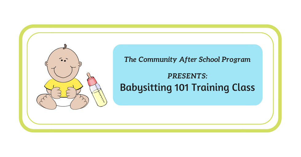 Babysitting 101 Web Banner